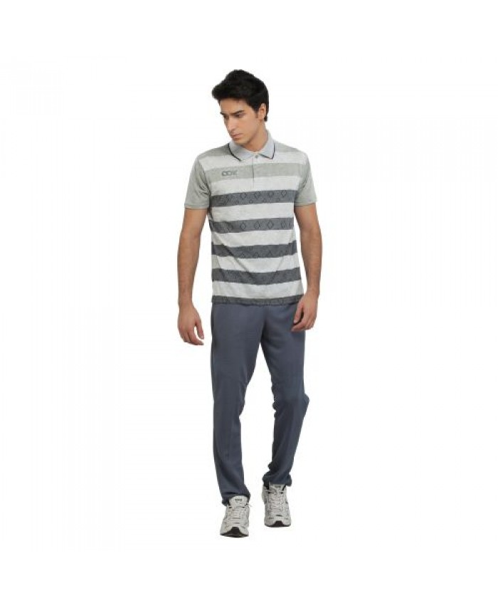 OOK Smart Fit Stripped Design T-shirt for Men's