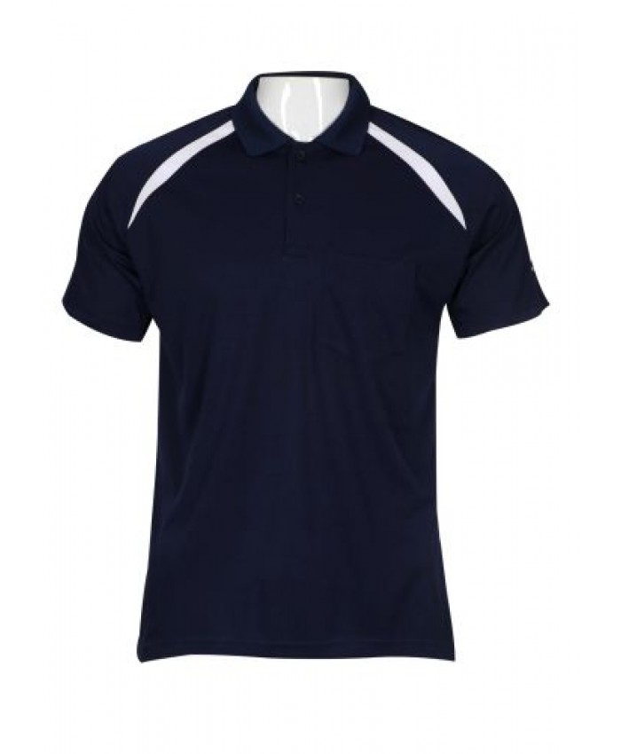 Polo Neck T-shirt for Men's in N.Net Fabric