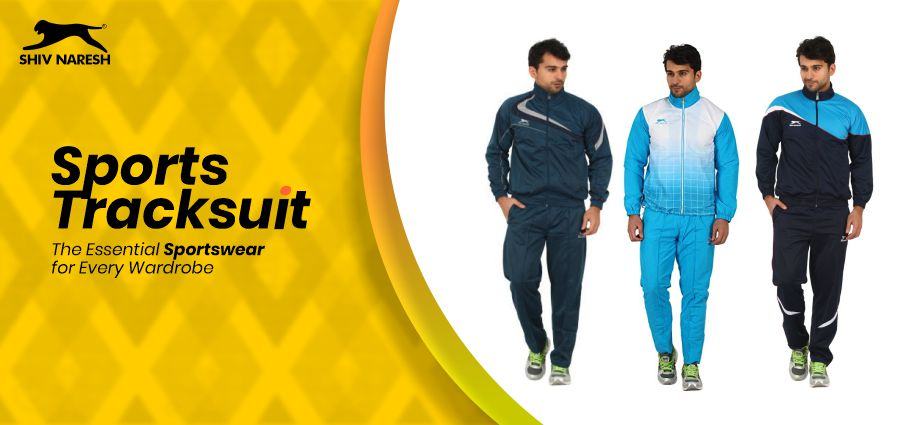 Sports Tracksuit – The Essential Sportswear for Every Wardrobe