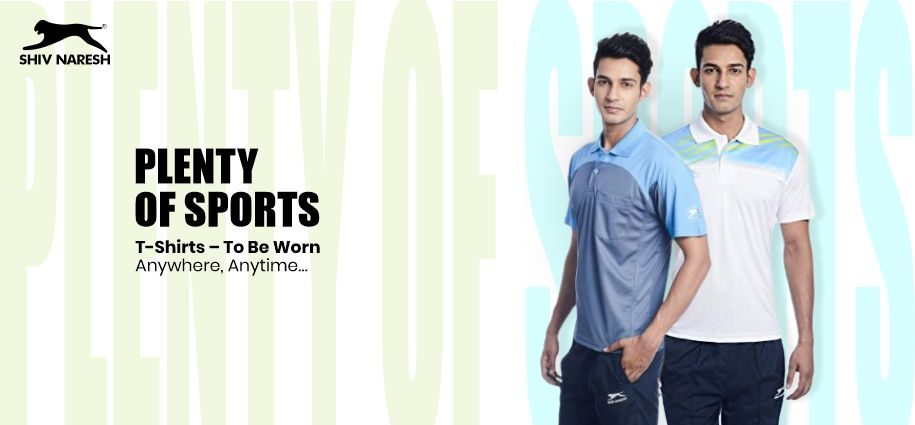 Plenty of Sports T-Shirts – To Be Worn Anywhere, Anytime